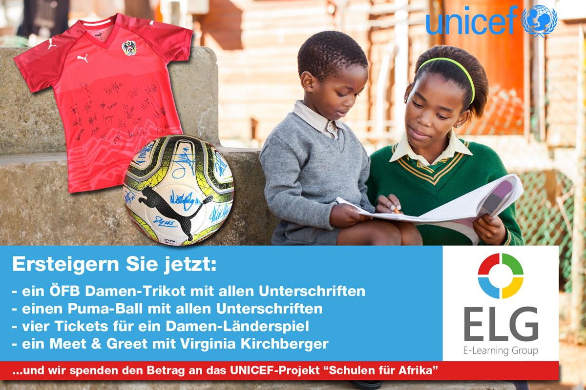 Spendenaktion UNICEF Österreich