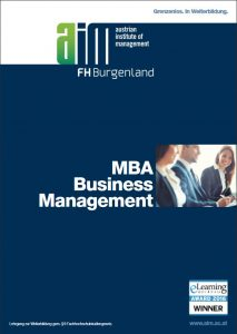 MBA Business Management MBA Fernstudium e-learning online studierenMBA Business Management MBA Fernstudium e-learning online studieren