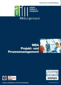 MBA Projektmanagement Prozessmanagement MBA Fernstudium e-learning online studieren