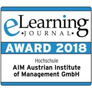 E-Learning Auszeichnung 2018
