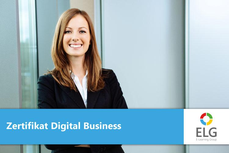 Online Ausbildung Digital Business Zertifikat