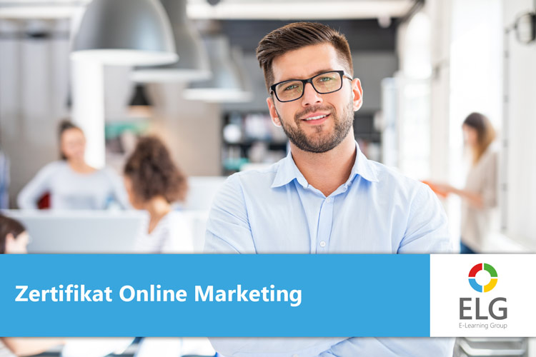 E-Learning Zertifikat Lehrgang Online Marketing