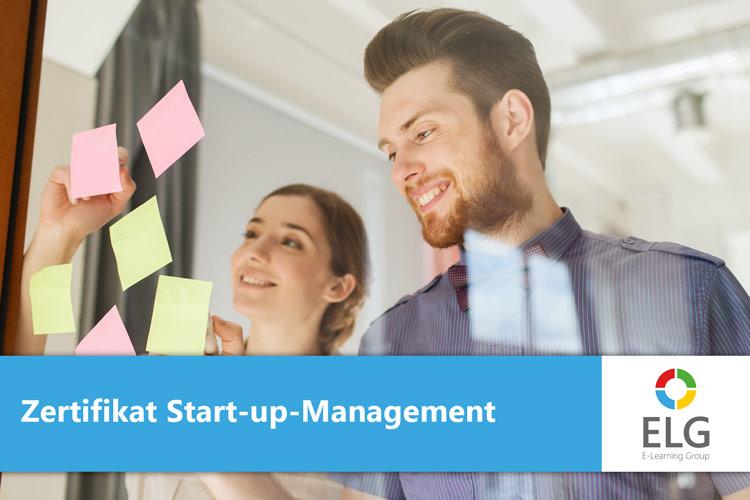 Zertifikat online für Gründer und Start-ups
