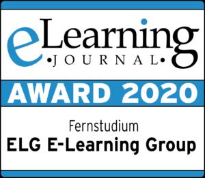 eLearning Award 2020 - Auszeichnung für die ELG