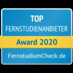 Auszeichnung Top-Anbieter FernstudiumCheck