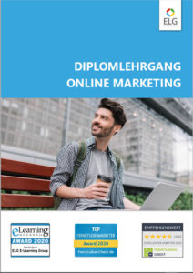 Diplomlehrgang Online Marketing Infobroschüre