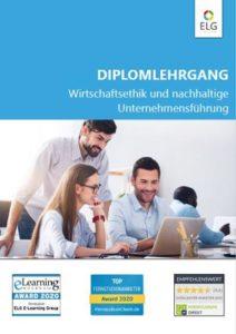Info-Folder Diplomlehrgang Wirtschaftsethik und nachhaltige Unternehmensführung