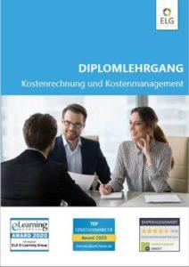 Info-Folder Diplomlehrgang Kostenrechnung und Kostenmanagement