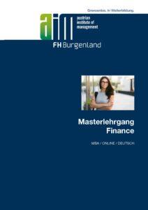 Folder MBA Finance