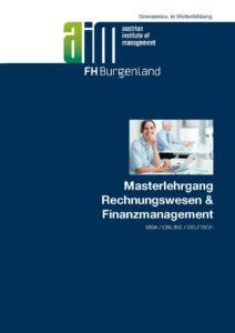 Folder MBA Rechnungswesen und Finanzmanagement